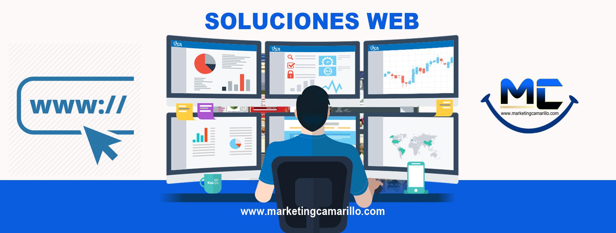 MARKETING CAMARILLO SOLUCIONES WEB